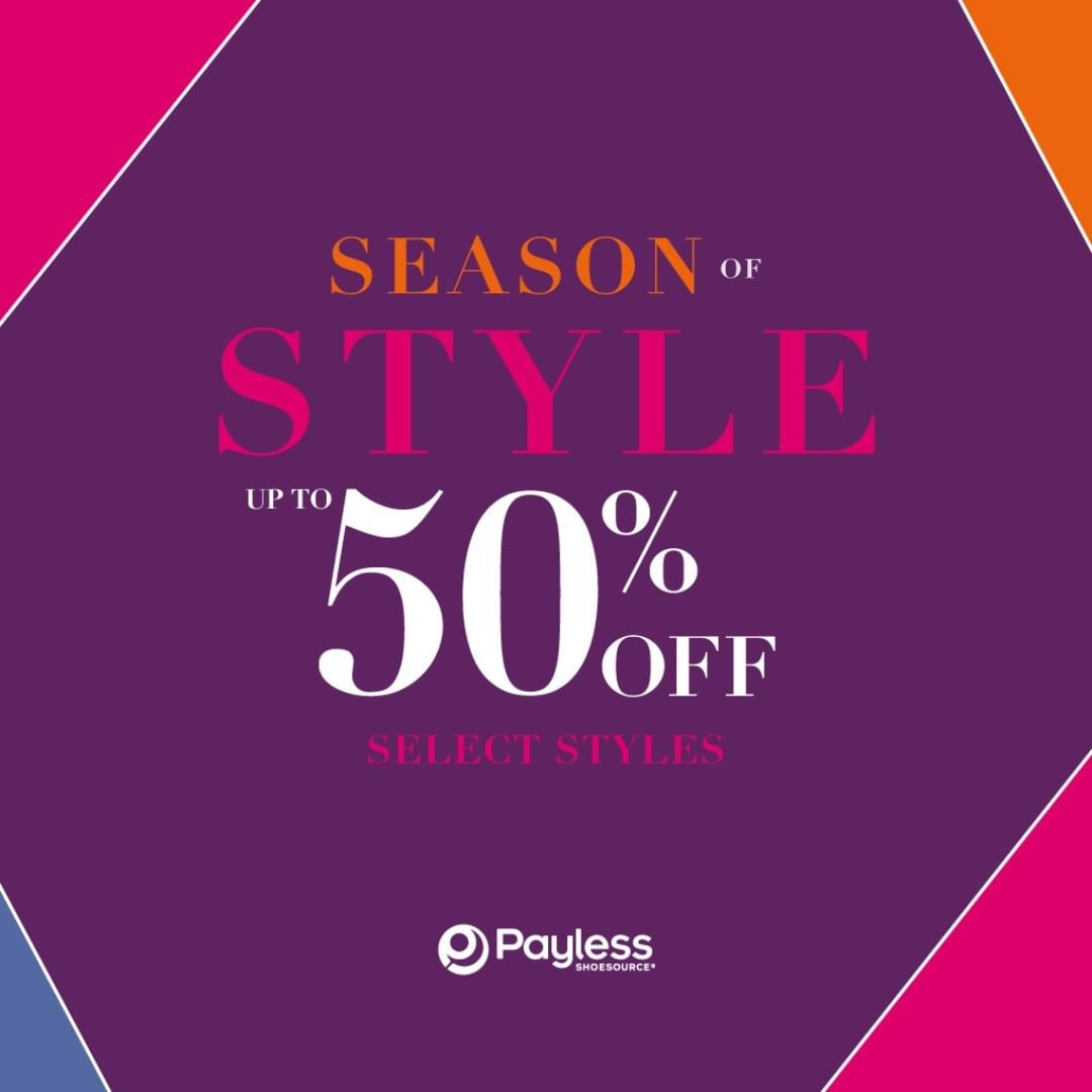 PAYLESS Promo Diskon Up to 50% off*