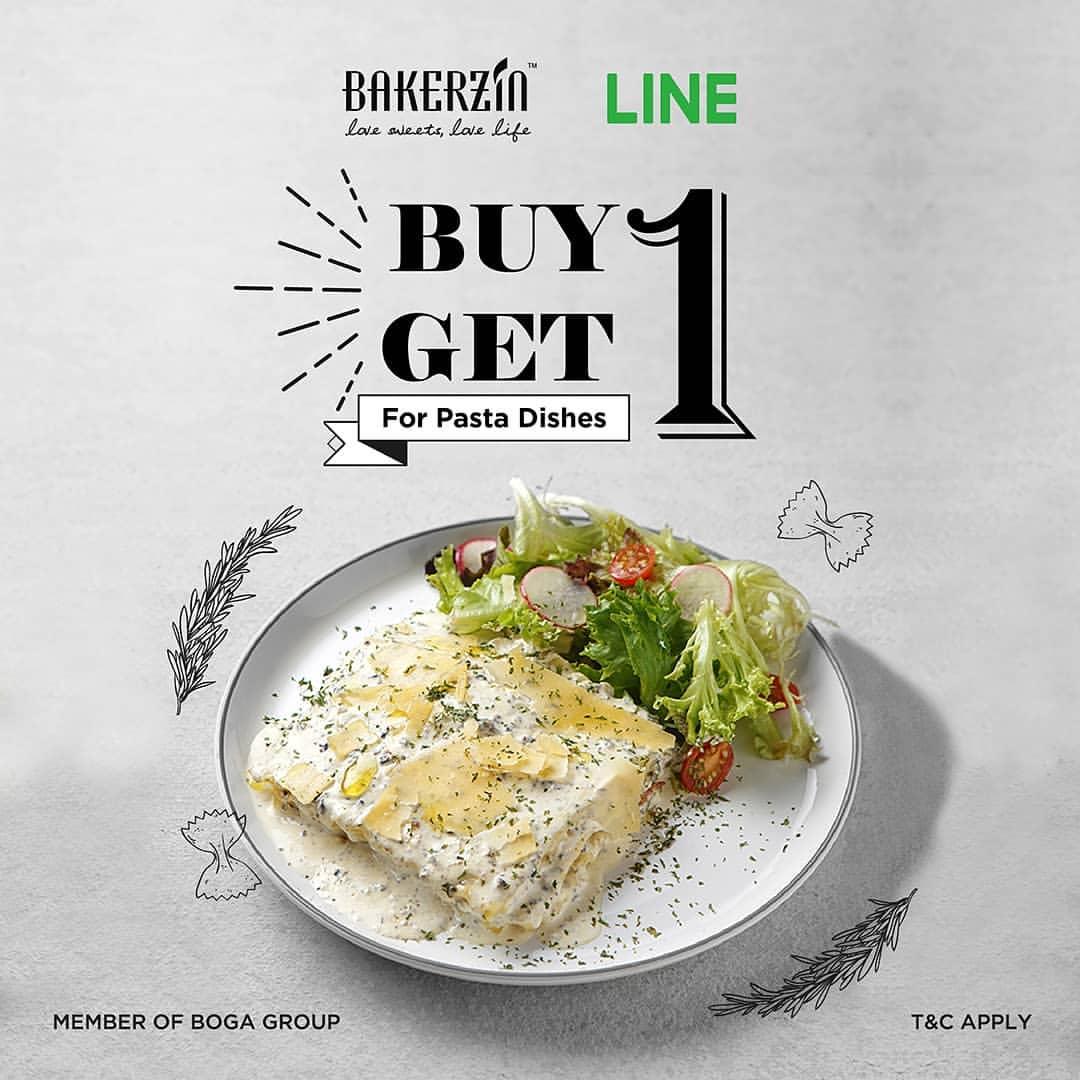 BAKERZIN Promo Buy 1 Get 1