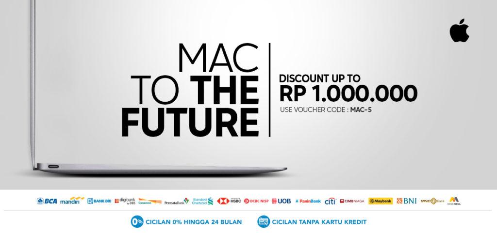 Diskon BLIBLI.COM Promo MAC To The Future