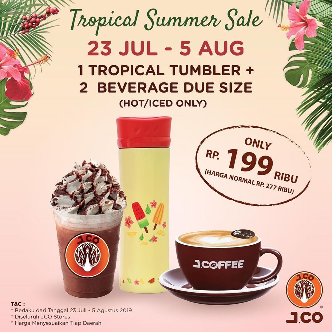 Diskon JCO Tropical Summer Sale