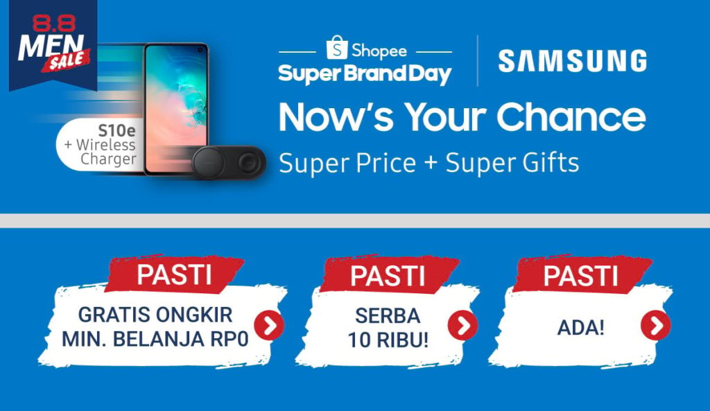SHOPEE.CO.ID Promo Smartphone & Tablet Disc up to 50%