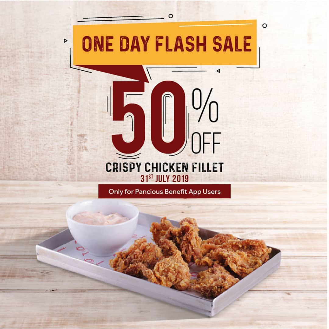Diskon Pancious Promo One Day Flash Sale, DISKON 50%