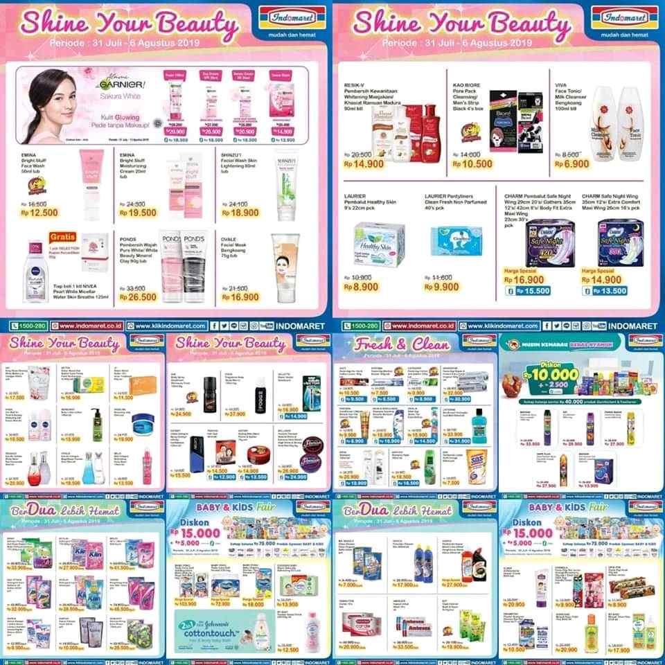 Katalog Promo INDOMARET Periode 31 Juli - 6 Agustus 2019