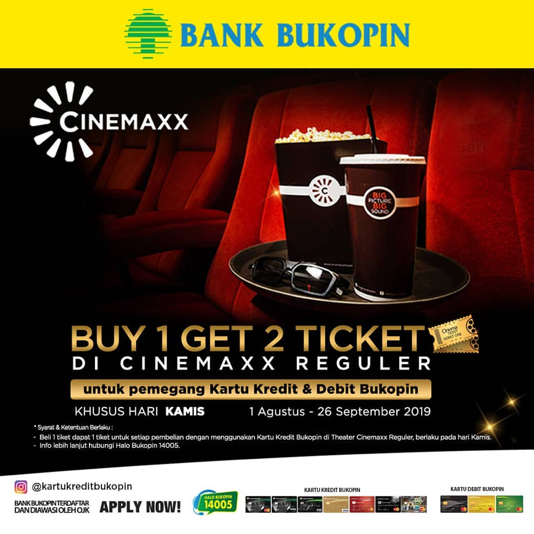 CINEMAXX Promo Buy 1 Get 2*