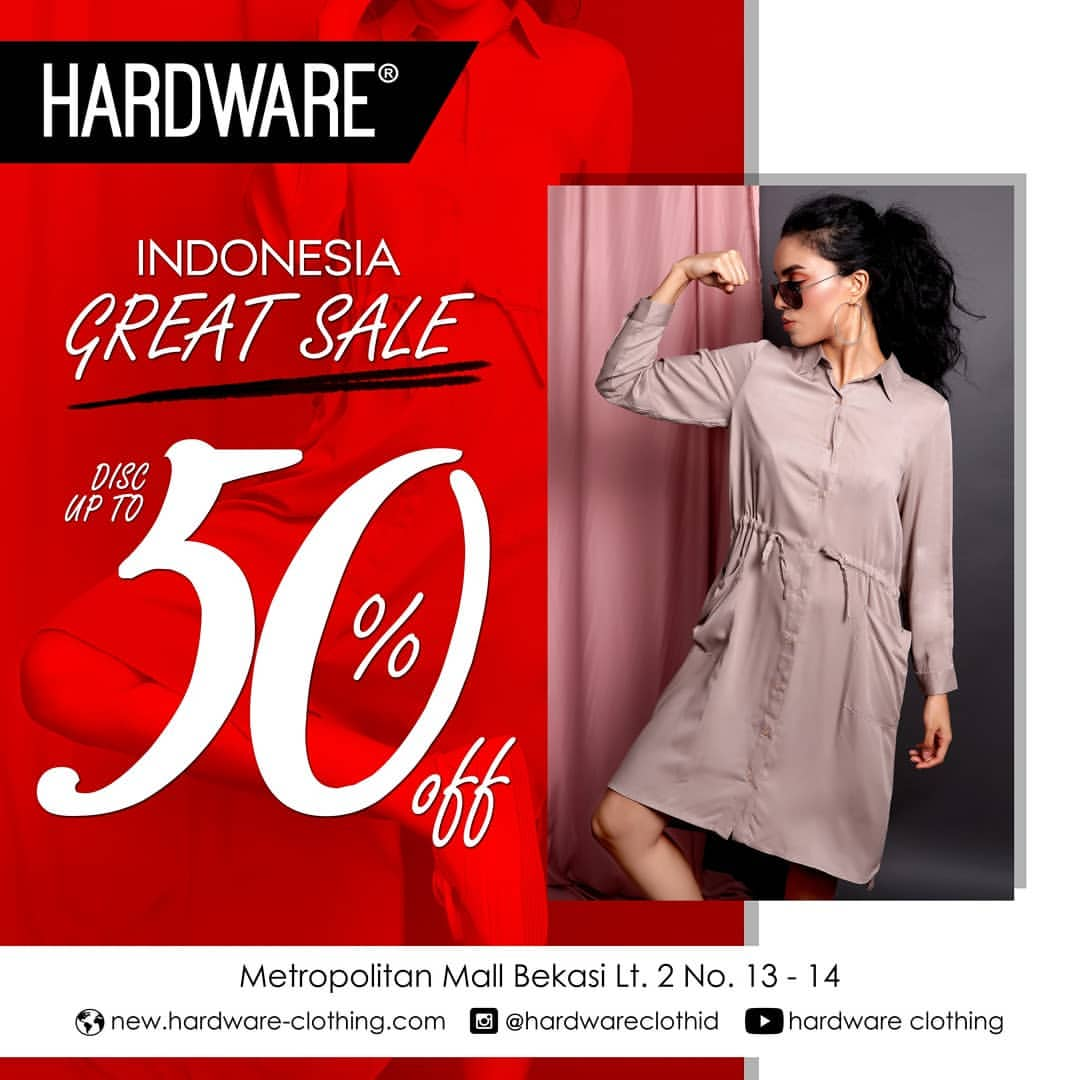Hardware Independence Day Promo, Discount Up to 50%!