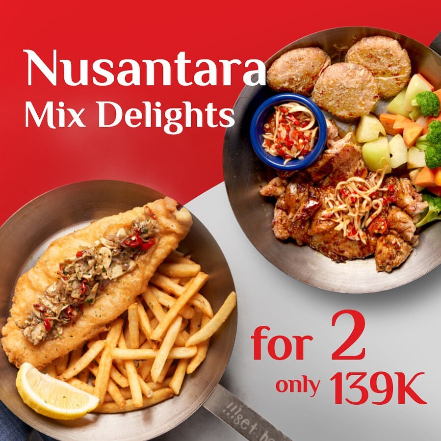 Diskon FISH & CO. Promo Nusantara Mix Delights 2 For Only Rp 139K