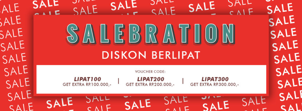 BLIBLI.COM Promo Diskon Berlipat, Get Extra Disc up to Rp.300.000