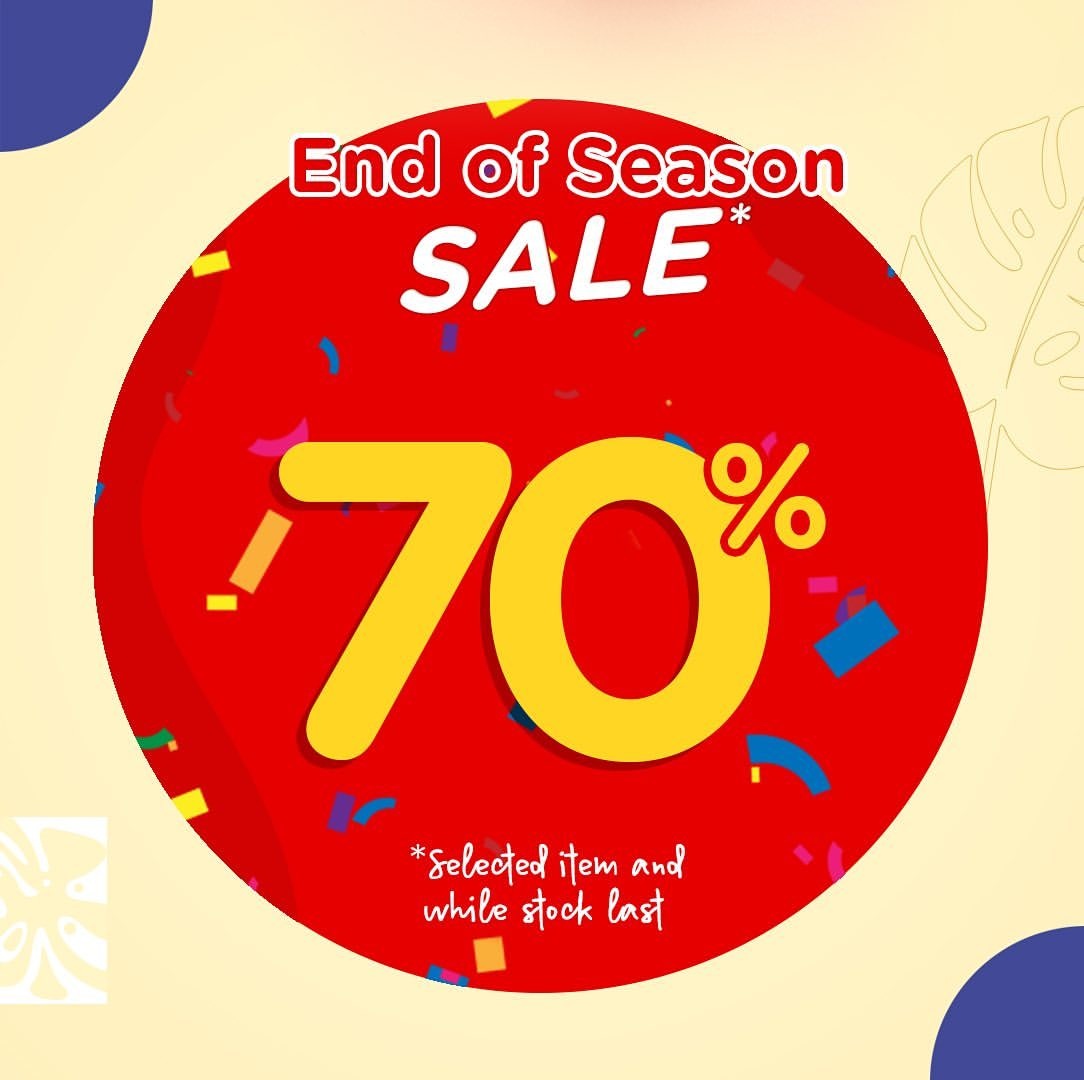 Diskon BRUN BRUN PARIS Promo End of Season SALE Up to 70%*