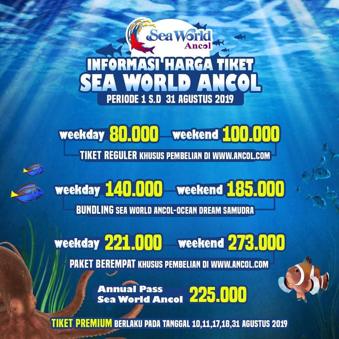 Diskon Seaworld Promo Hemat Agustus Mulai Rp.80.000!