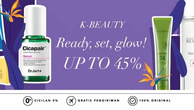 Blibli Promo K-Beauty, Diskon Hingga 45%