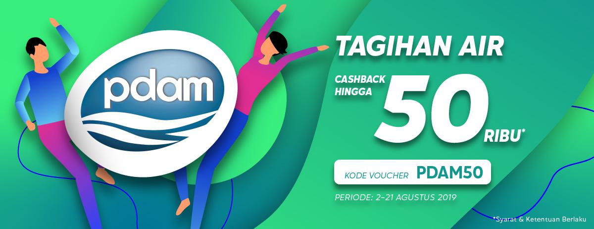 Blibli Promo Bayar Tagihan Air, Cashback Hingga Rp 50.000