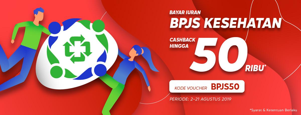 Blibli Promo Bayar BPJS Kesehatan, Cashback Hingga Rp.50.000