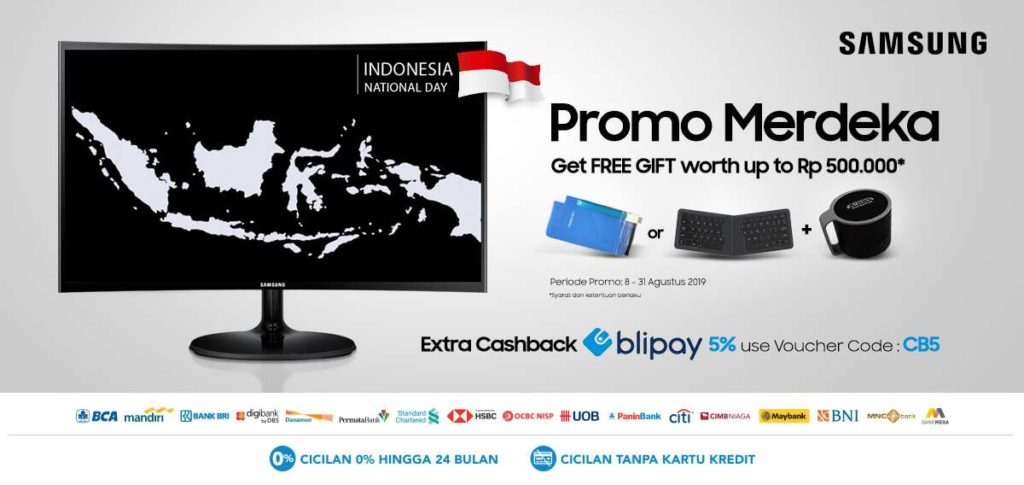 BLIBLI.COM SAMSUNG Promo, Get FREE GIFT Worth up to Rp.500.000