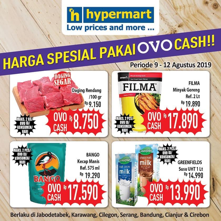 HYPERMART Promo HARGA SPESIAL dengan OVO CASH