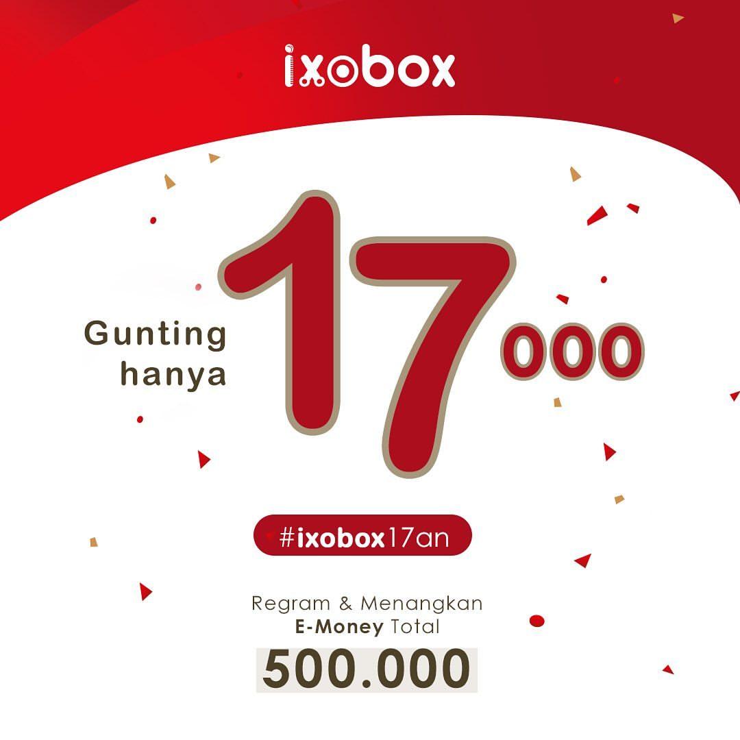 IXOBOX Promo Gunting hanya Rp.17.000