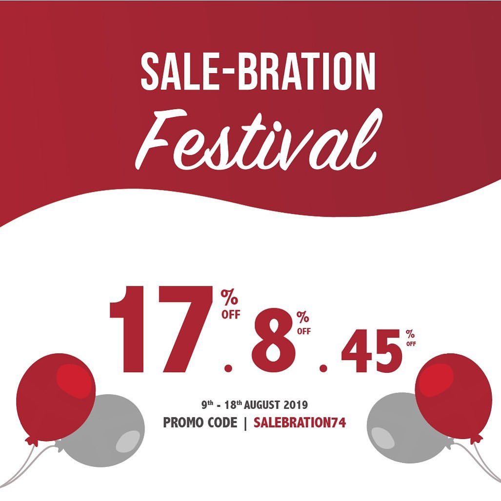 TRACCE Independence Day Promo SALE-BRATION Festival
