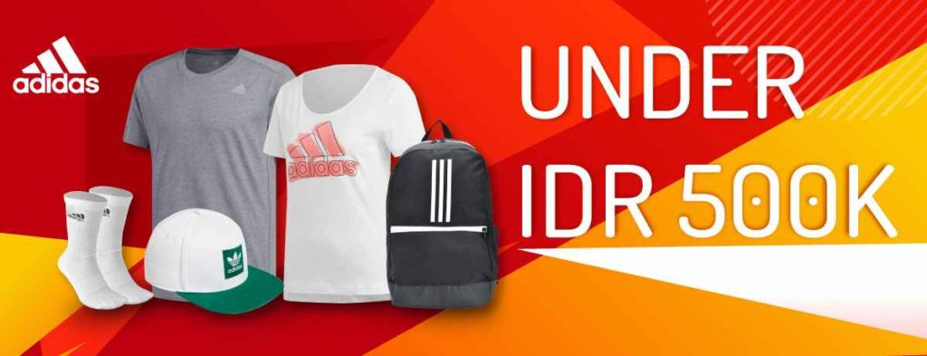 BLIBLI.COM Promo ADIDAS All Under IDR 500K!